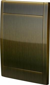Retraflex Deco Deckel zu Einbaudose Kupfer